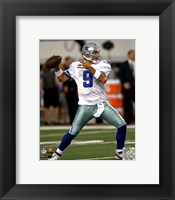 Framed Tony Romo 2011 Action