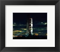 Framed Apollo 17 the Last Moon Shot