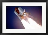 Framed Atlantis Taking Off on STS-27