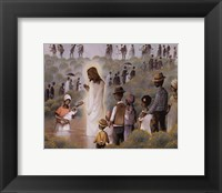 Framed Black Baptism