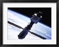 Framed International Space Station
