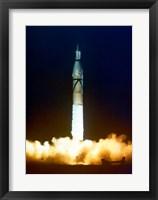 Framed Launch of Jupiter C with Explorer