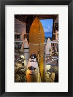 Framed STS-135 Atlantis rollout