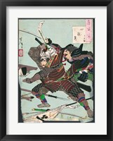 Framed Battle of the Samurai