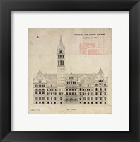 Framed Municipal and County Buildings Toronto July 1887