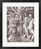 Framed Adam and Eve Exit Eden