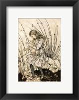 Framed Alice in Wonderland
