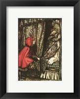 Framed Little Red Riding Hood