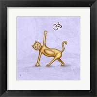 Yoga Cat II Framed Print