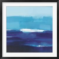 Framed Cerulean Seas