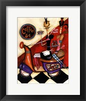 Coffee 5 Cents Framed Print