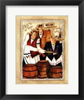 Wine & Roses II Framed Print