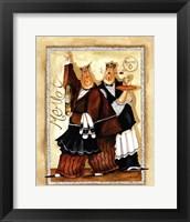 Wine & Roses IV Framed Print