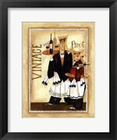 Wine & Roses III Framed Print