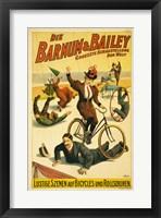 Framed Barnum & Bailey