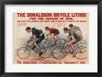 Framed Donaldson Bicycle