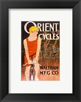 Framed Orient Bicycles