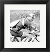 Framed Lucien Buysse in de Tour de France 1926