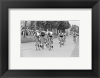 Framed Tour de france 1966