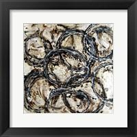 Abstract Circles II Framed Print