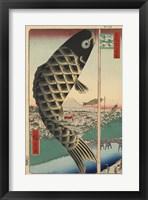Framed Koi Kites