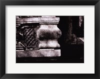 Framed Stone Carving VI