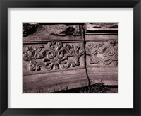 Framed Stone Carving VII