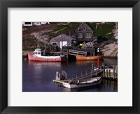 Coastal Shore II Framed Print