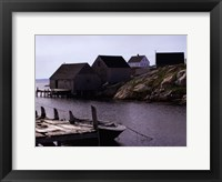 Coastal Shore I Framed Print