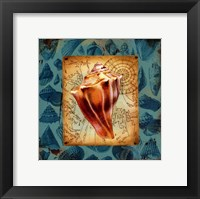 Seaside Gifts III Framed Print