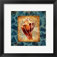 Seaside Gifts III Framed Print