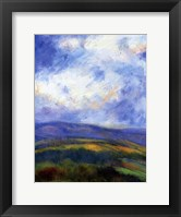Mountain View V Framed Print