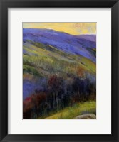 Mountain View IV Framed Print