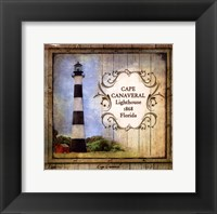 Framed Florida Lighthouse II