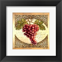 Wine Grapes I Framed Print