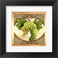 Framed Wine Grapes II