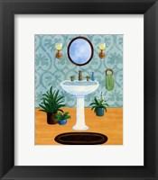 Framed Bath Tranquility II