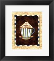 Mocha Lattee I Framed Print