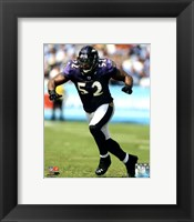 Framed Ray Lewis 2011 Action