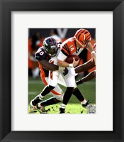 Framed Von Miller 2011 Running Action