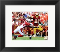 Framed Tim Hightower 2011 Action