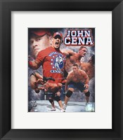 Framed John Cena 2011 Portrait Plus
