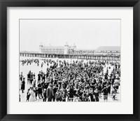 Framed Atlantic City Pier
