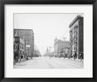 Framed Atlantic Avenue, Atlantic City, NJ