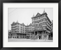 Grand Atlantic Hotel, Atlantic City, NJ Framed Print