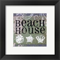 Beach Signs I Framed Print