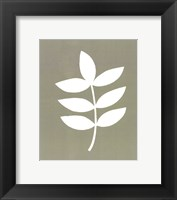 Simple Sihouette III Framed Print