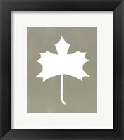 Simple Sihouette IV Framed Print