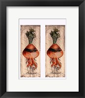 Framed Fresco Veggies VI