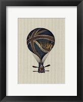 Framed Vintage Ballooning IV
